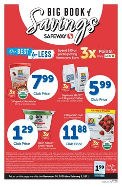 Safeway catalogue in San Jose CA ( Expired )