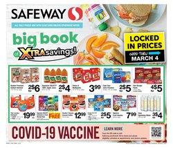 Water deals in Safeway