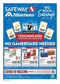 Safeway catalogue ( 28 days left )