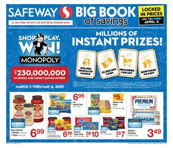 Safeway catalogue ( More than a month )