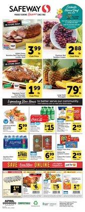 Safeway catalogue in San Francisco CA ( 3 days ago )