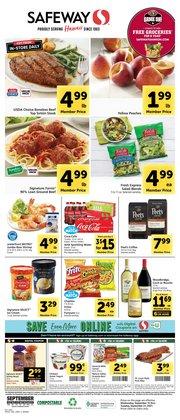 Grocery & Drug deals in the Safeway catalog ( 4 days left)