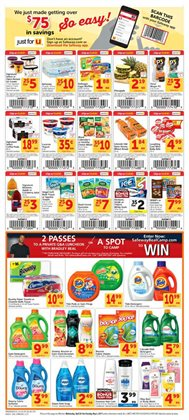 Lasagna deals in the Safeway weekly ad in Sterling VA