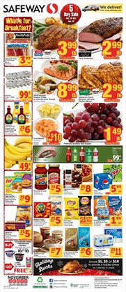Safeway deals in the Sacramento CA weekly ad