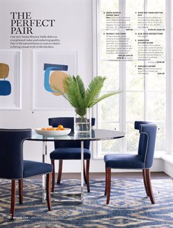 Chairs deals in the Williams Sonoma weekly ad in New York