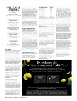 Prints deals in the Williams Sonoma weekly ad in San Jose CA