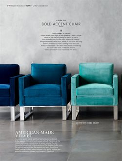 Chairs deals in the Williams Sonoma weekly ad in Albany NY