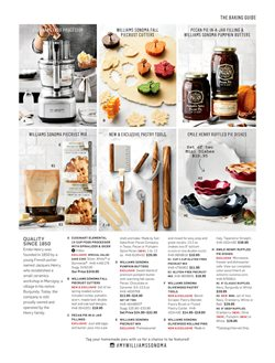 Cuisinart deals in the Williams Sonoma weekly ad in New York