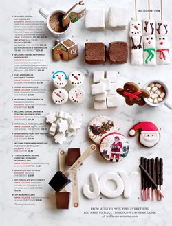 Christmas deals in the Williams Sonoma weekly ad in New York