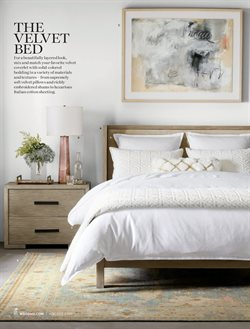 Bed deals in the Williams Sonoma weekly ad in Yorba Linda CA