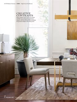 Dining room deals in the Williams Sonoma weekly ad in New York