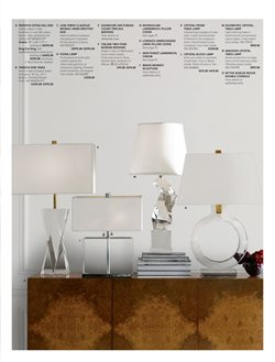 Lamp deals in the Williams Sonoma weekly ad in New York