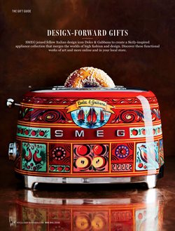 Smeg deals in the Williams Sonoma weekly ad in New York