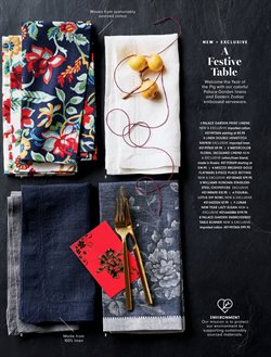 Prints deals in the Williams Sonoma weekly ad in New York