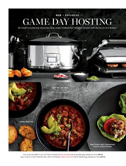 Grill deals in the Williams Sonoma weekly ad in New York
