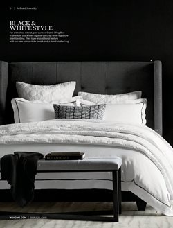 Bedroom deals in the Williams Sonoma weekly ad in New York