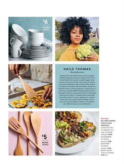 Plates deals in the Williams Sonoma weekly ad in East Lansing MI