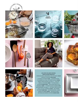 Table deals in the Williams Sonoma weekly ad in Troy NY