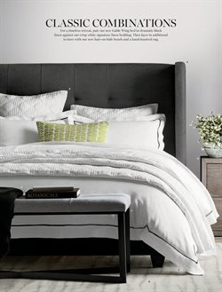 Bedding deals in the Williams Sonoma weekly ad in New York