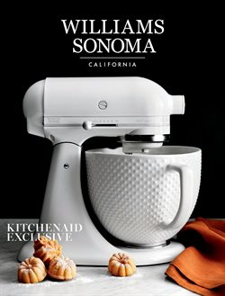 Home & Furniture deals in the Williams Sonoma weekly ad in San Francisco CA