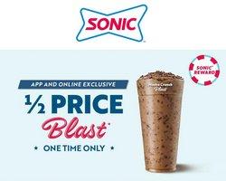 Restaurants deals in the Sonic catalog ( 4 days left)