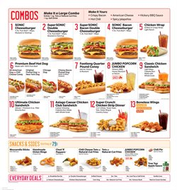 Sonic deals in the Oklahoma City OK weekly ad