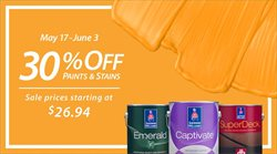 Sherwin-Williams deals in the Johnstown PA weekly ad