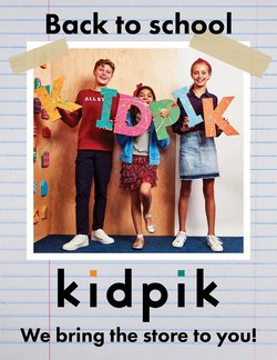 Kidpik deals in the Kidpik catalog ( 14 days left)