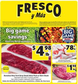 Fresco y Más catalogue ( Expired )