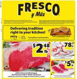 Fresco y Más catalogue ( 1 day ago )
