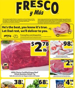 Grocery & Drug deals in the Fresco y Más catalog ( 3 days left)