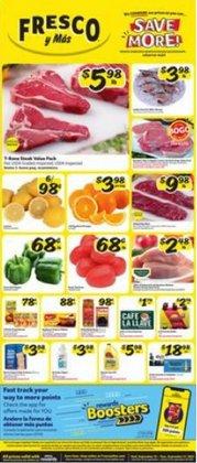 Grocery & Drug deals in the Fresco y Más catalog ( 2 days left)