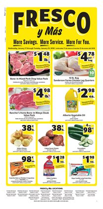 Grocery & Drug deals in the Fresco y Más weekly ad in Miami FL