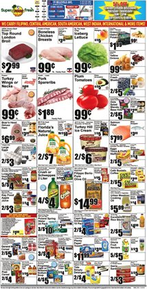 Oil deals in the Super Fresh weekly ad in New York