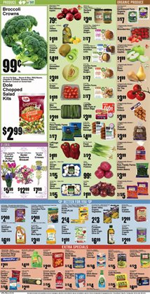 Broccoli deals in the Super Fresh weekly ad in New York
