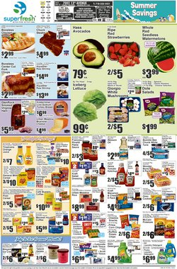 Super Fresh deals in the Super Fresh catalog ( 2 days left)