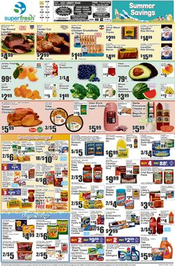Grocery & Drug deals in the Super Fresh catalog ( Published today)