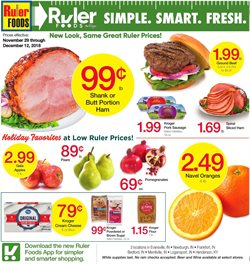 Ruler Foods deals in the Evansville IN weekly ad
