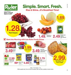 Ruler Foods deals in the Jasper IN weekly ad