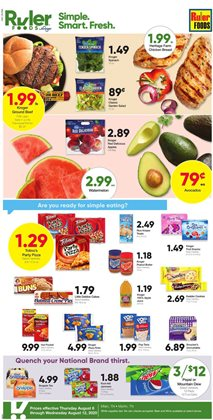 Ruler Foods catalogue ( Expires today )
