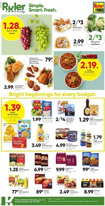 Ruler Foods catalogue ( Expired )