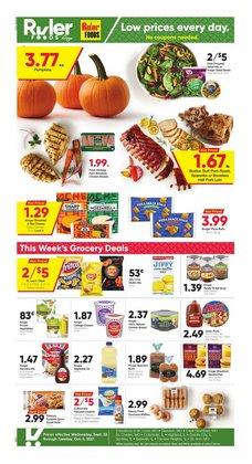 Ruler Foods deals in the Ruler Foods catalog ( 7 days left)