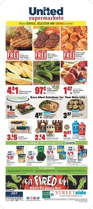 Grocery & Drug deals in the United Supermarkets catalog ( Expires today)