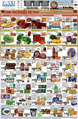 Food Universe catalogue ( 2 days ago )