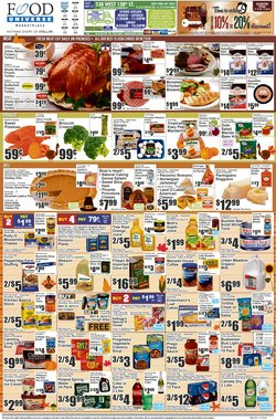 Bed deals in Food Universe