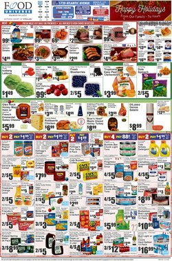 Food Universe catalogue ( Expired )