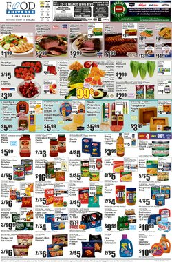 Food Universe catalogue ( 1 day ago )
