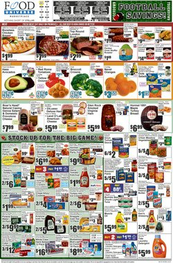 Food Universe catalogue in New York ( Expired )