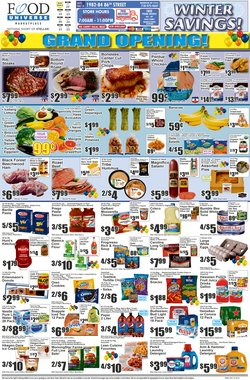 Food Universe catalogue ( Expires tomorrow )