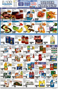 Food Universe catalogue ( Expires today )